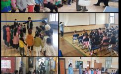 복지관 기관견학-대건어린이집