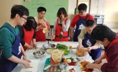평생교육센터 정규반 요리활동