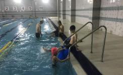 생존수영 시작!!
