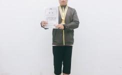 태권도시범단 이용자 서영우 품새1위